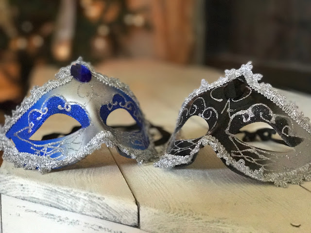 Masks for a New Years Eve Gala