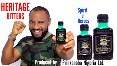 Yul Edochie made face of Heritage Bitters (photos)