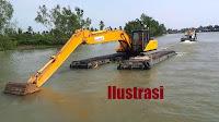 Siapkan Eksavator Amphibi,  BWSNT-1 Bentuk Tim Penanggulangan Bencana