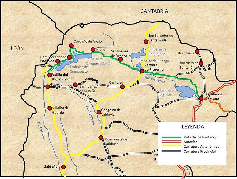 mapa picos da europa espanha J5   A loucura por autocaravanas clássicas!: Rota dos Lagos  mapa picos da europa espanha