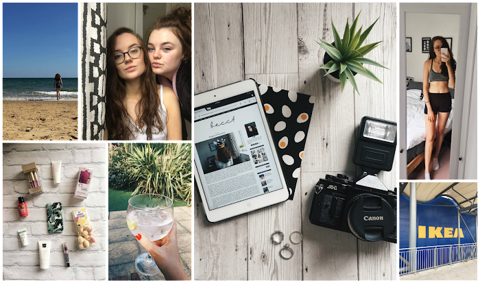 A lifestyle roundup of my week at university featuring all I've bought, watched, eaten, seen and been up to. Featuring my first ever blog giveaway, a trip to Ikea and a gin filled afternoon at the pub with my dad