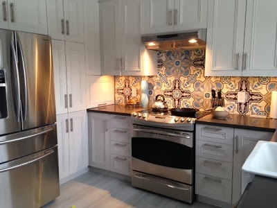 A recent kitchen remodel in Quebec used Cuban Cement tiles.