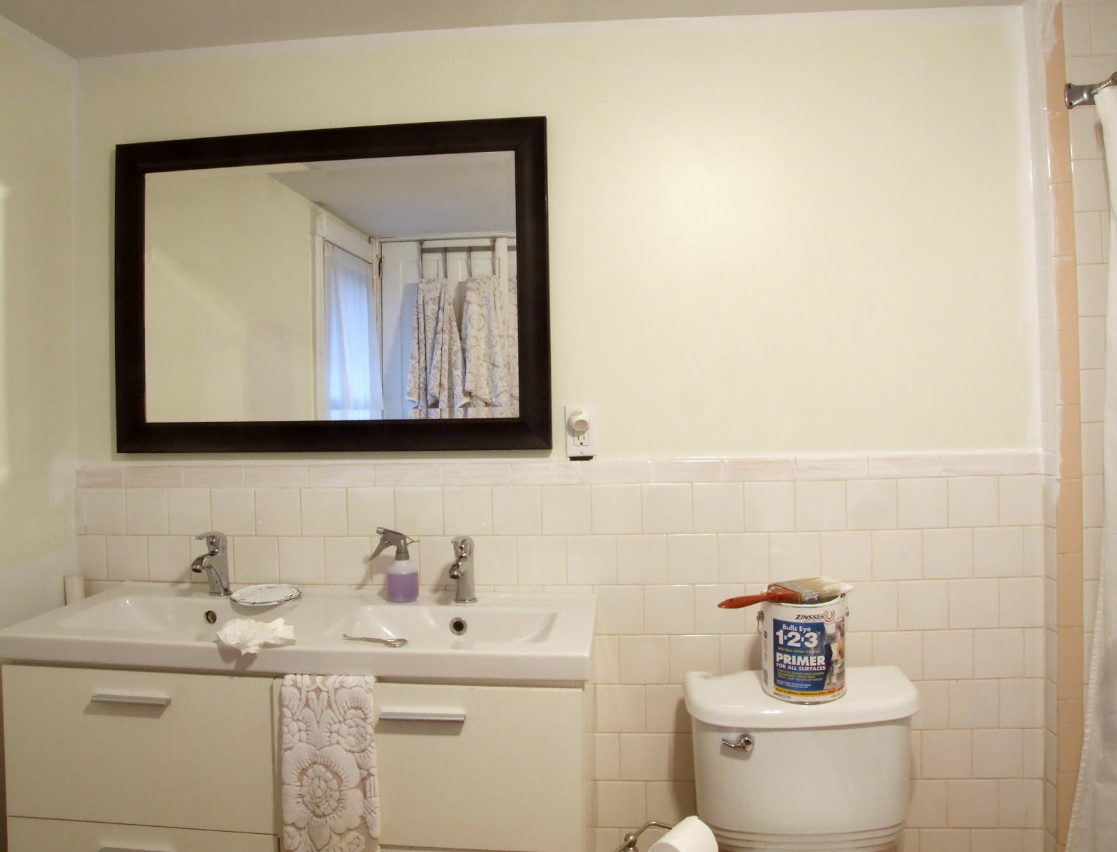 The Best Way To Paint Tile Don T 183 Little Victorian