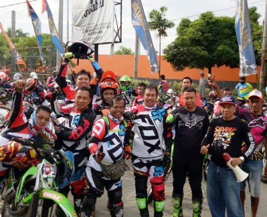 RMS : Salut Peserta Rider Asal Selayar, Dipimpin Langsung Bupatinya
