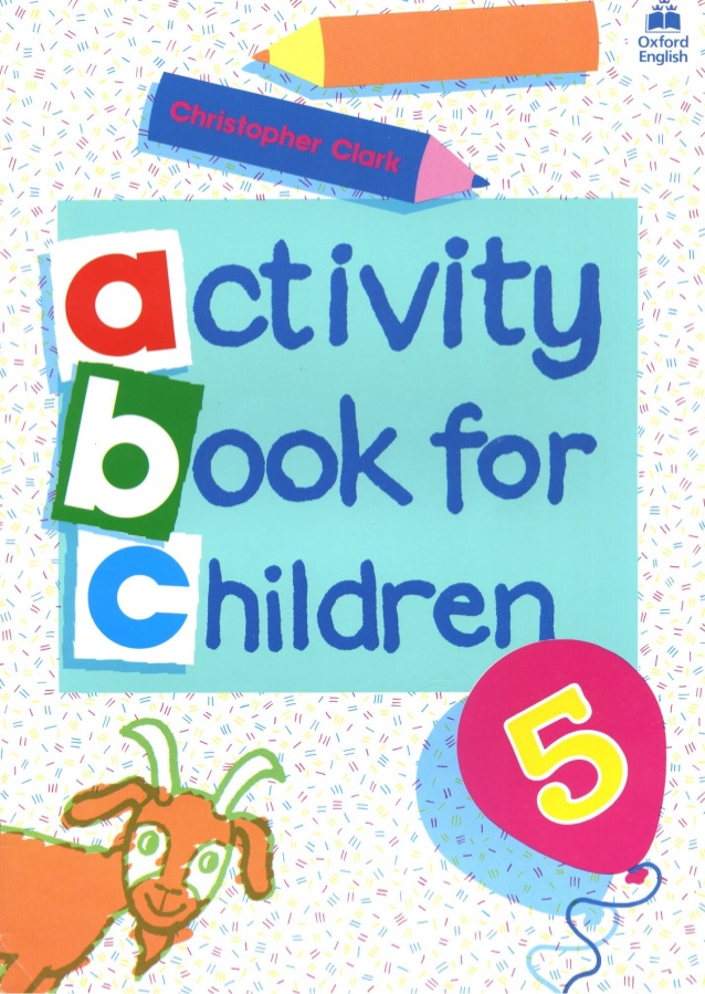 Activity Book For Children 5.