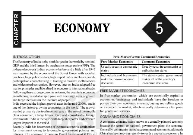 Economics capsule by Disha Publication for Competitive Exams PDF Download