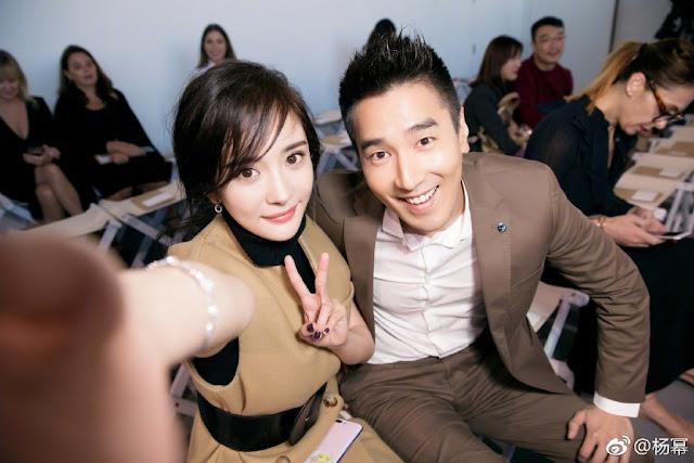 Bai Qian and Yehua reunited in New York