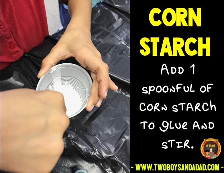adding corn starch to the mix