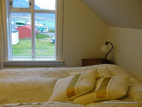 room at Hotel Aldan in Seydisfjordur in northeast Iceland