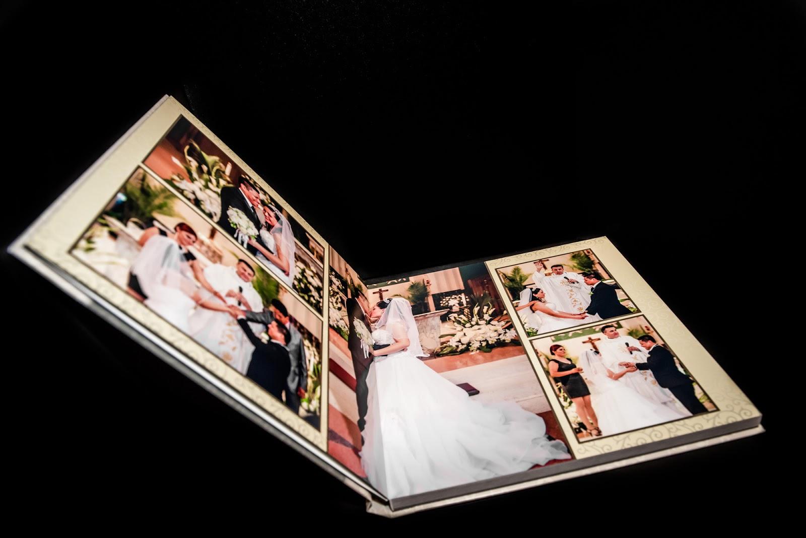 wedding photographer album sample