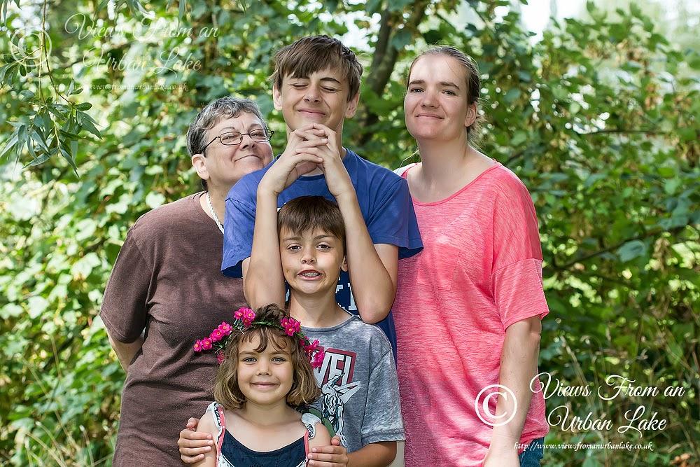 My Family (back row - Granny, Own, Zoe - Front Row - Bo, Toby)