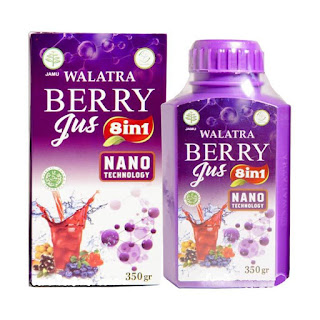 Cara Pemesanan Walatra Berry Jus
