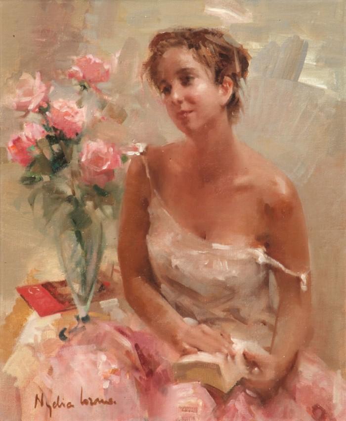 Масляная живопись. Nydia Lozano 11