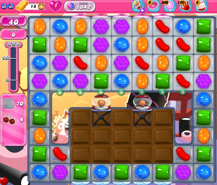 Candy Crush Saga 1842