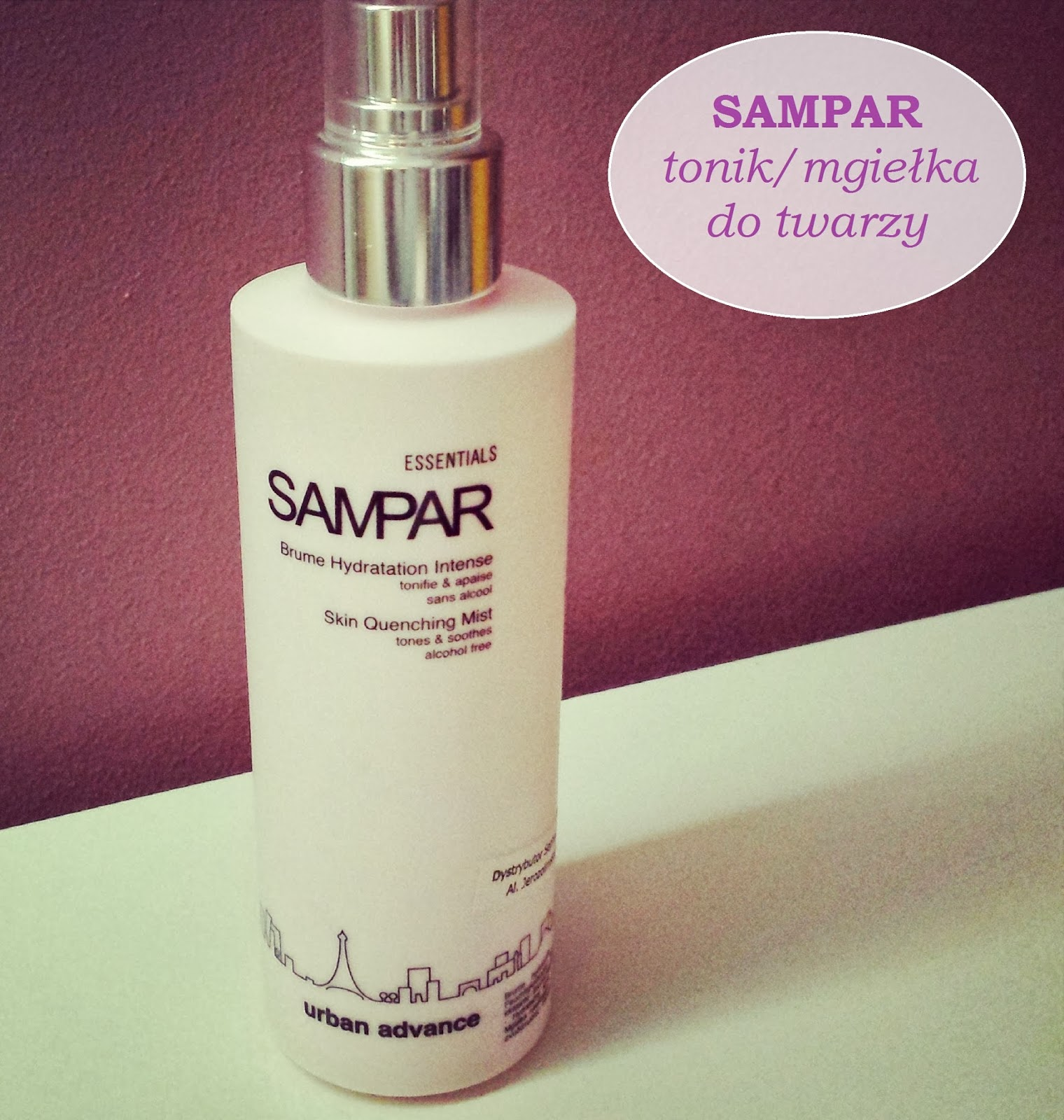 SAMPAR - tonik/mgiełka do twarzy