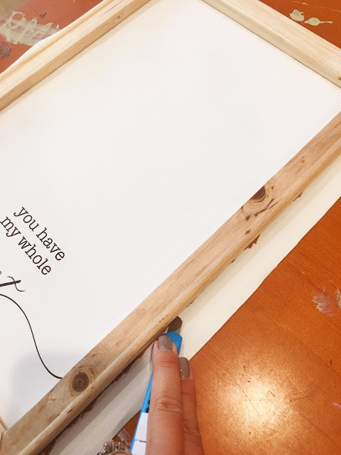 Reverse canvas, heat transfer vinyl, reverse canvas sign, reverse canvas idea, reverse canvas tutorial
