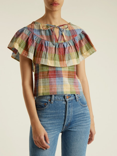Ace & Jig Madras Clifton Top