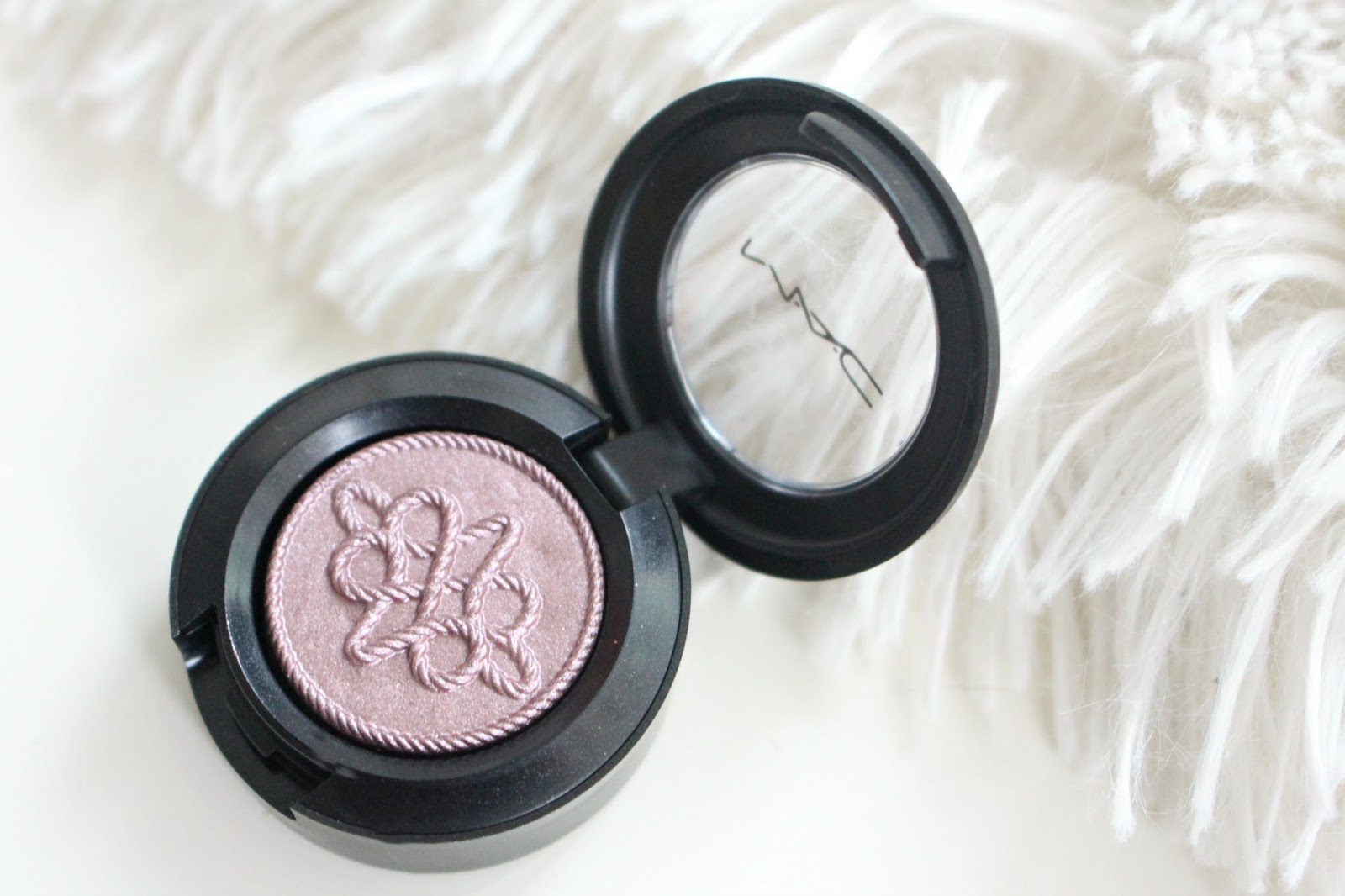 MAC Nutcracker Sweet Plum Eye Bag Swatches | Samantha Jane