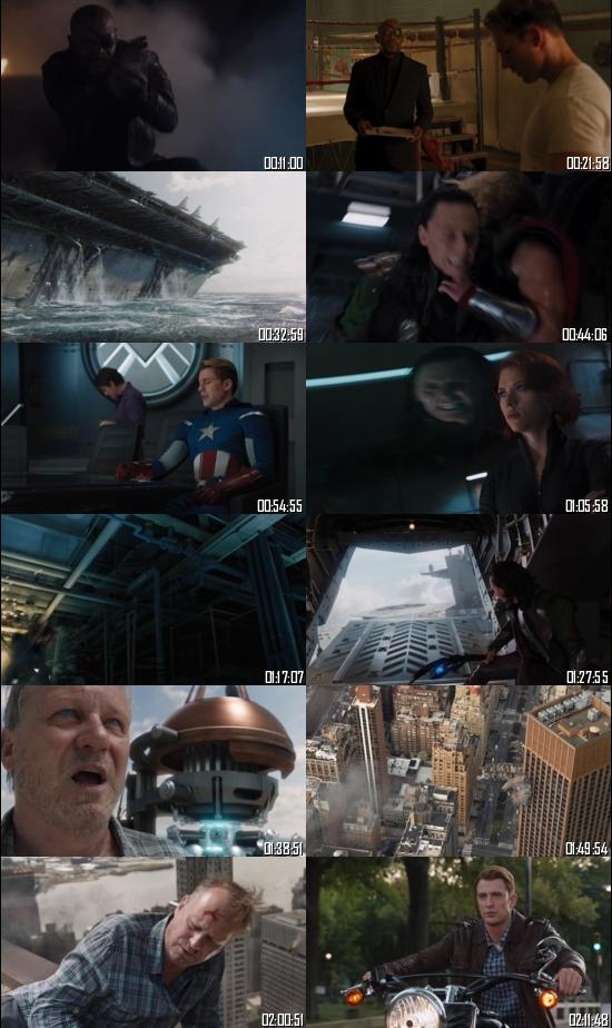 The Avengers 2012 BRRip 720p 480p Dual Audio Hindi English Full Movie Download