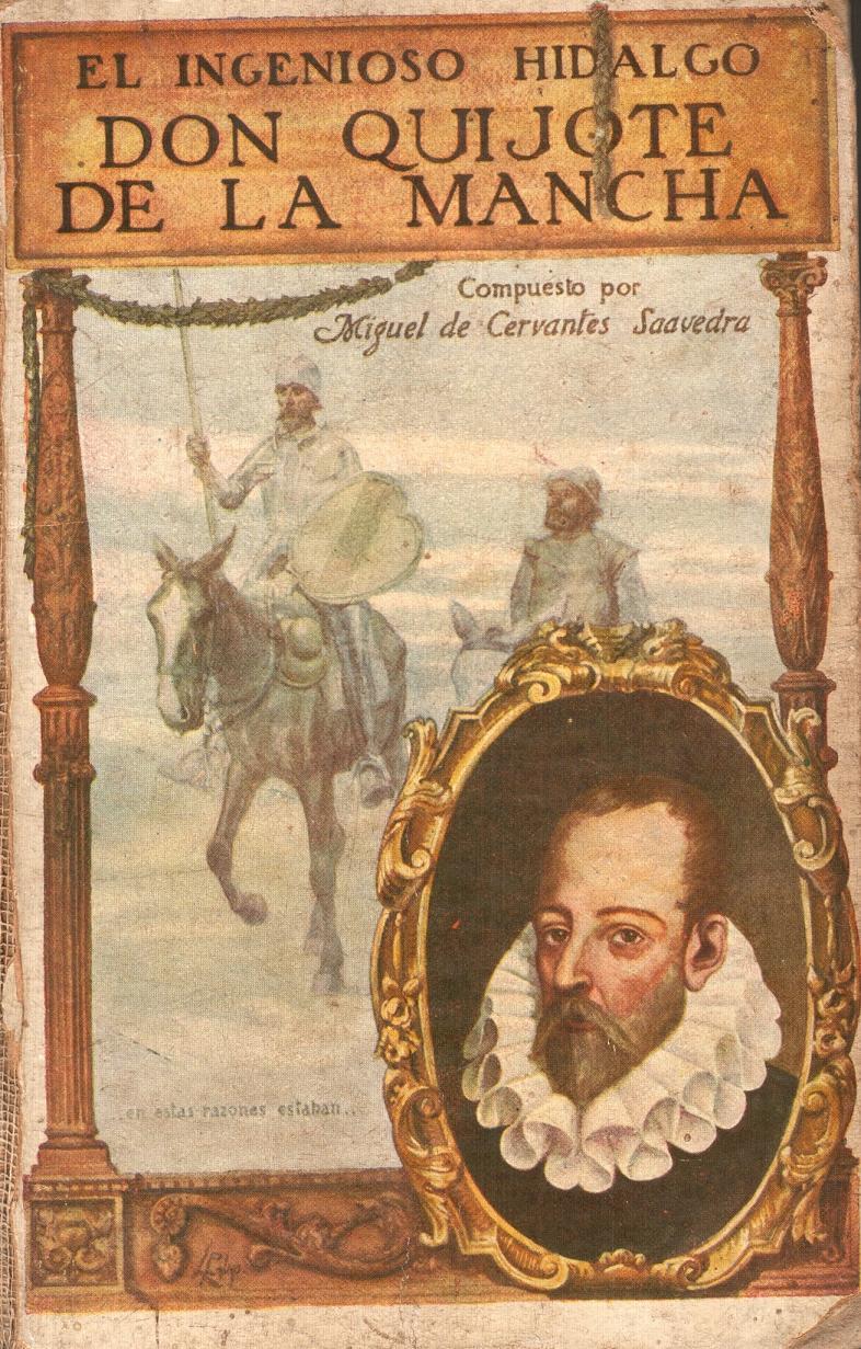 "Nosoloduermo: Libro antiguo, ""EL QUIJOTE"""