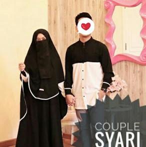 Set Gamis Syar'i Couple Suami Istri