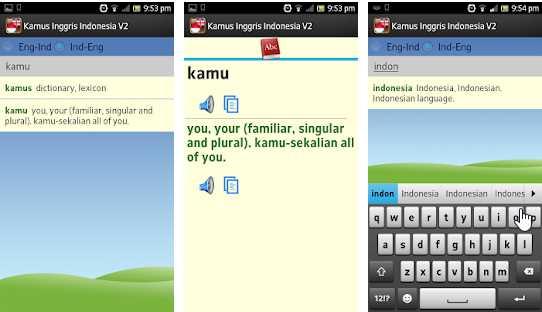 Aplikasi kamus bahasa inggris