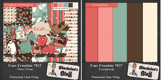 New Digital Scrapbook Freebie Post!