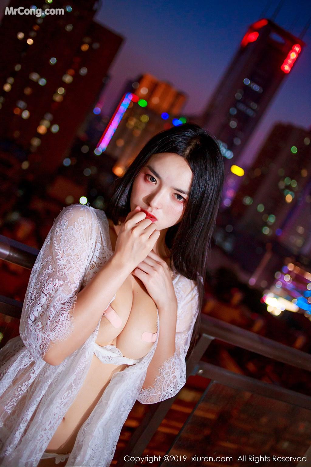 Image XIUREN-No.1715-Jin-Jing-Xi-MrCong.com-008 in post XIUREN No.1715: Jin Jing Xi (金静熙) (51 ảnh)