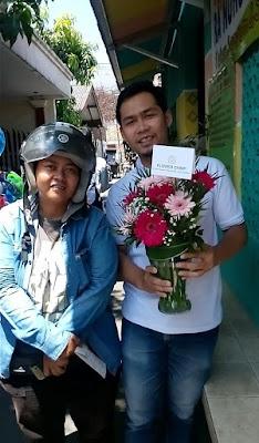 pengiriman bunga hias flower chimp