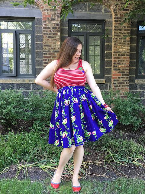 Venus Flytrap petite Jenny skirt