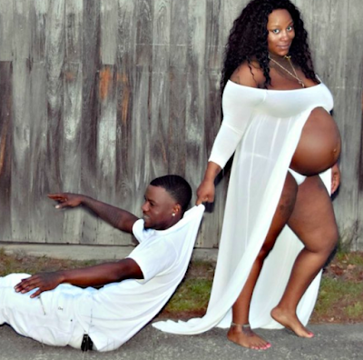 Lol! And the maternity PHOTOSHOOT craze goes on