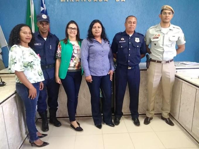 24ª CIPM participa de audiência sobre segurança pública promovida pela Guarda Municipal de Mirangaba