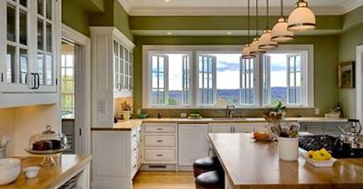 Tránh đặt bếp trước cửa sổ