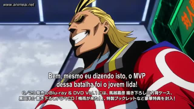 Boku No Hero Academia – Episódio 08