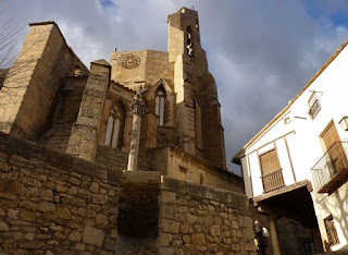 Iglesia basílica de Santa María la Mayor de Morella.