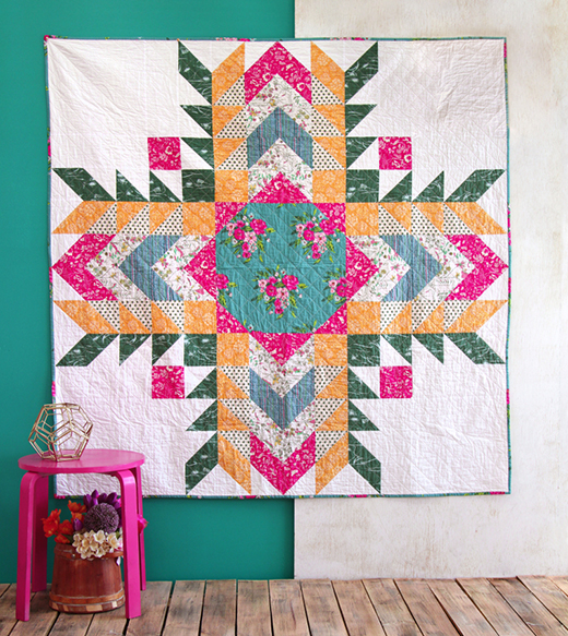 Sunflower Quilt Free Pattern