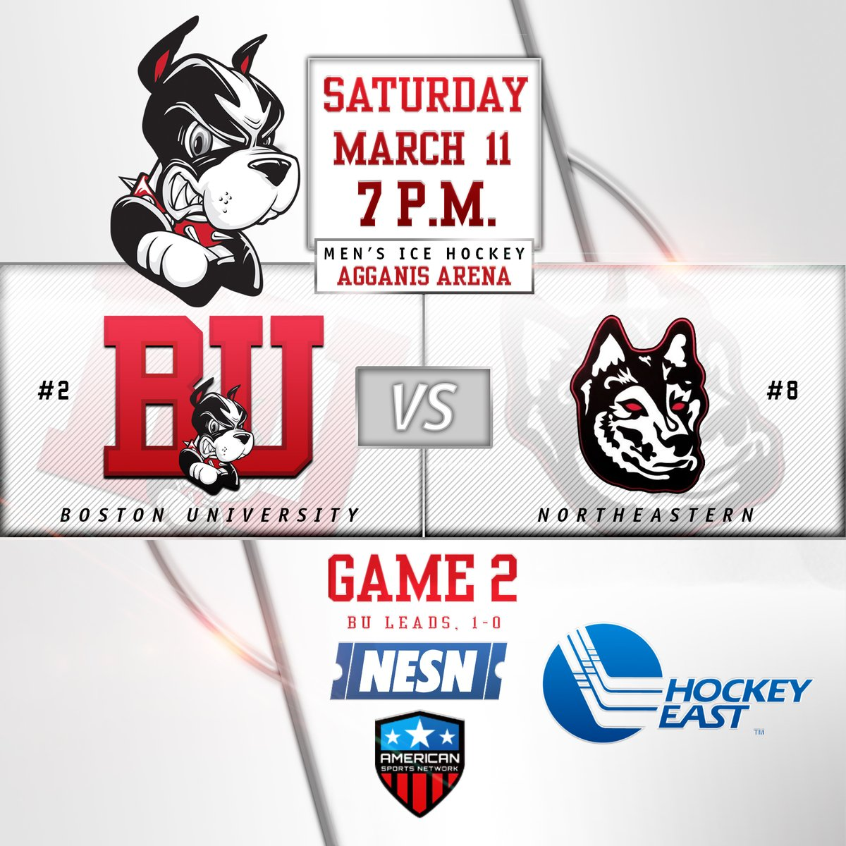 Hicky Web Series: The Terrier Hockey Fan Blog: Game Day: BU Vs. Northeastern