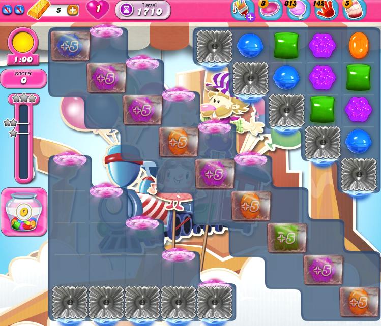 Candy Crush Saga 1710
