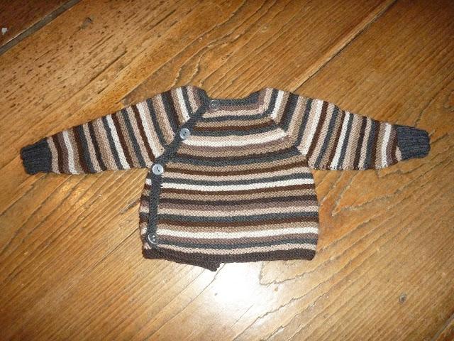 Babyjäcken stricken nach gratis Anleitung