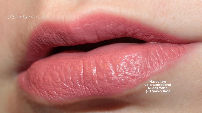Review Maybelline Color Sensational Nudes Creamy Matte Lipsticks