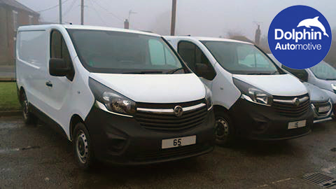Vauxhall Vivaro's Fitted With Parking Sensors