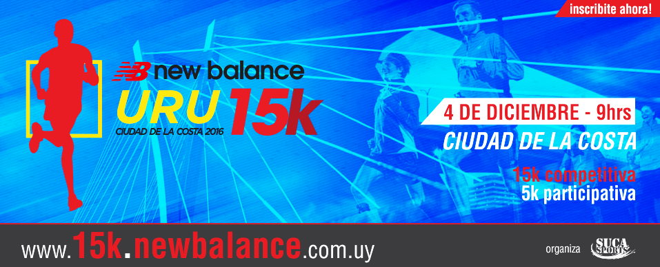 15k new balance 2016 uruguay