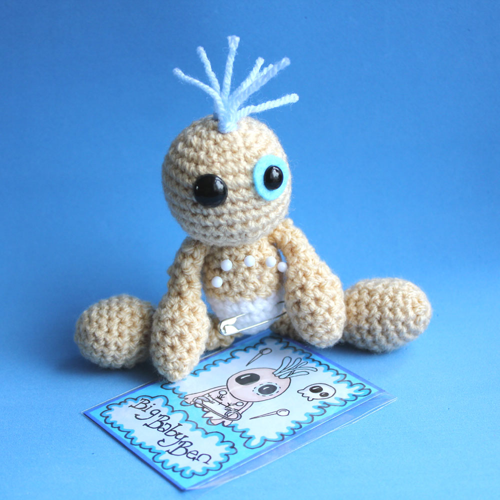 Introducing Amigurumi Voodoo Doll - SkeleTom | I was getting… | Flickr | 1000x1000