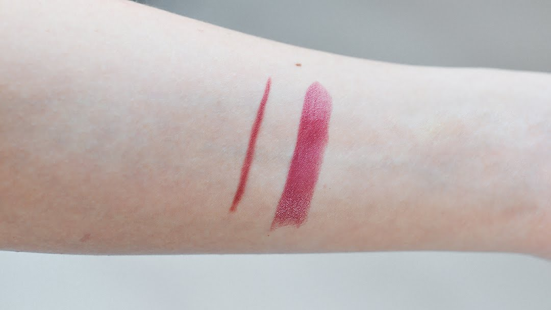 Primark, lipstick, lip liner, lip pencil, rosewood mauve, nr 9, swatches, budget make up, review, affordable, trends, 2016, fashion blogger, belgie, belgium
