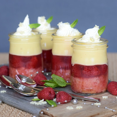 Trifle recipe great for using up two egg yolks