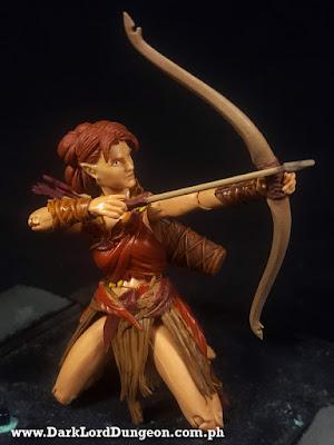 Vitruvian HACKS Aiyana Elven Archer - Autumn Guard - Action Figure