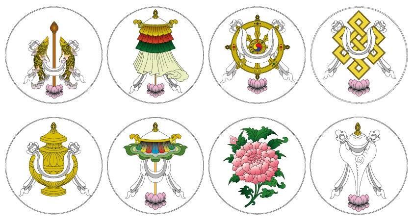 Símbolos Budistas e Seus Significados