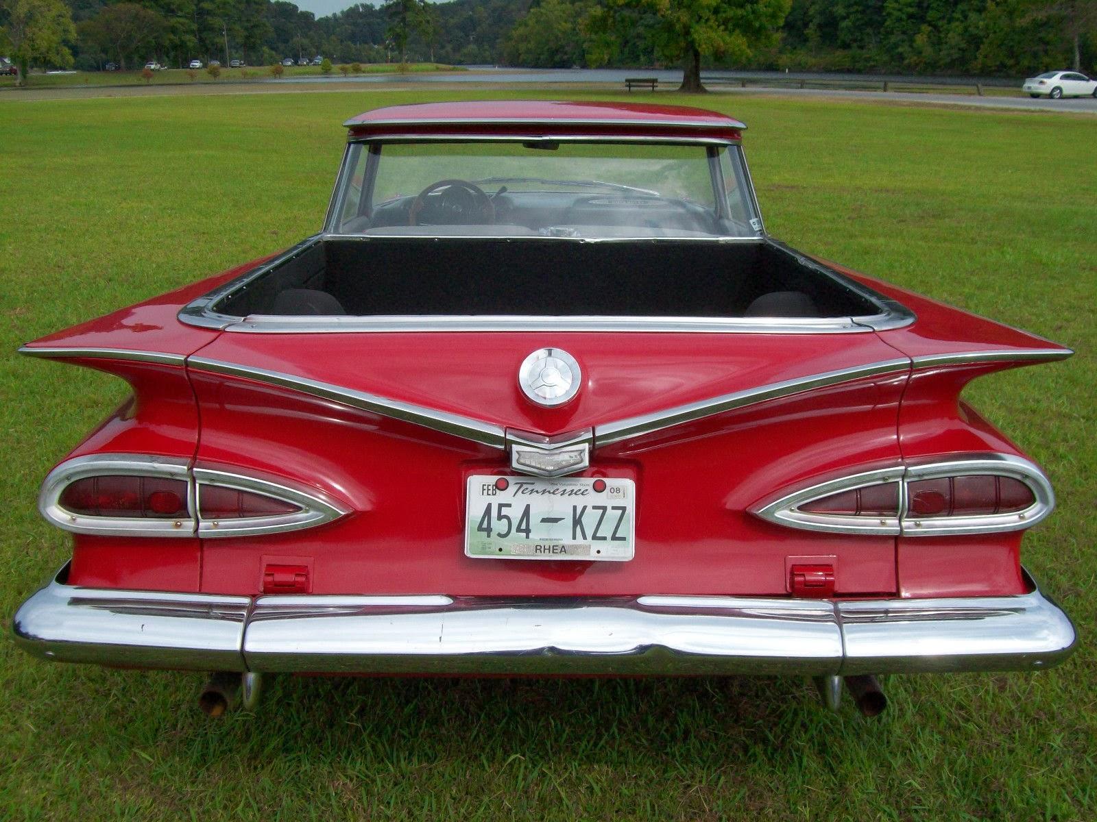 Scorpio S Garage 1959 Chevrolet El Camino 1 2 Car 1 2