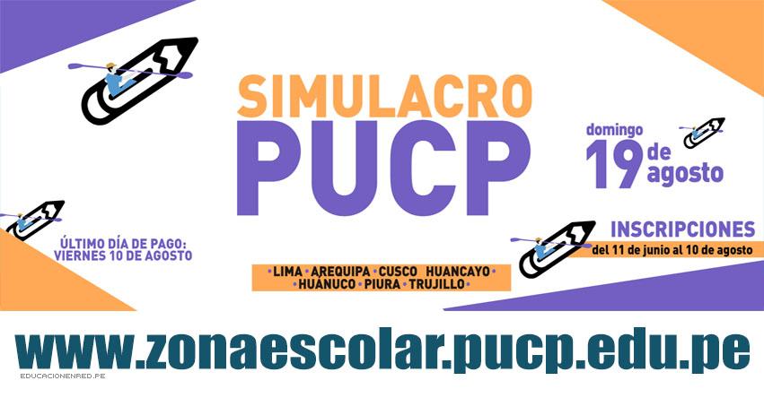 Resultados PUCP 2018 (19 Agosto) Zona Escolar - Simulacro Examen Admisión - Pontificia Universidad Católica del Perú - www.pucp.edu.pe