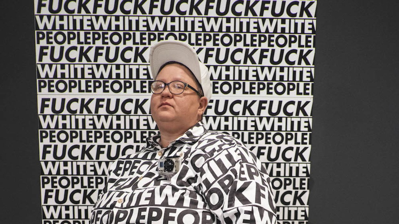 Fuck White People Artwork: The Cape Town Magistrate's Court has ruled that  a controversial exhibition titled 'Fuck White People' is an expression of  art and ...